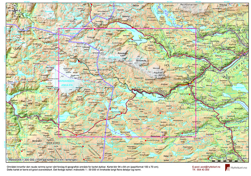 hallingskarvet kart Hva er Hyttekart? | Hyttekart hallingskarvet kart